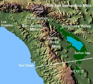 Coachella Valley in Southern California