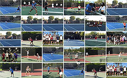Adult Tennis Photo Gallery