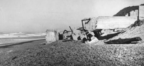 Ruins of Bayocean Natatorium 1932