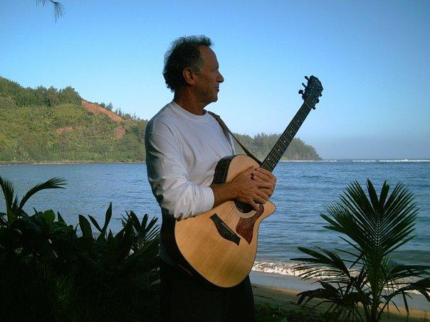 Dave Rullo Overlooking Hanalei Bay