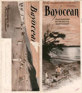 Bayocean:  Playground of the Pacific Northwest Postcard