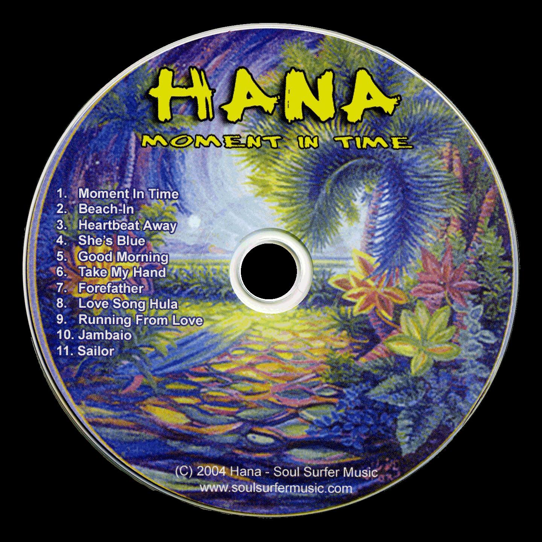 Hana, 'Moment in Time' CD