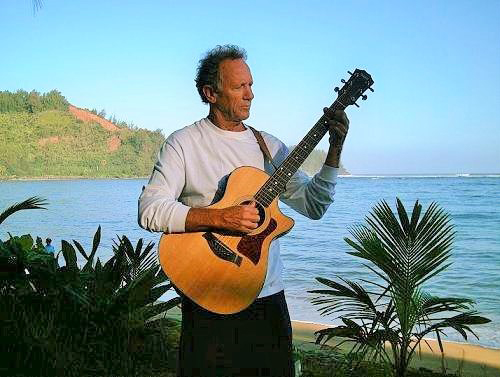 Dave Rullo on Hanalei Bay