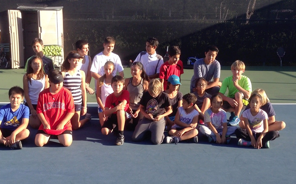Juniors at Rancho Niguel Tennis