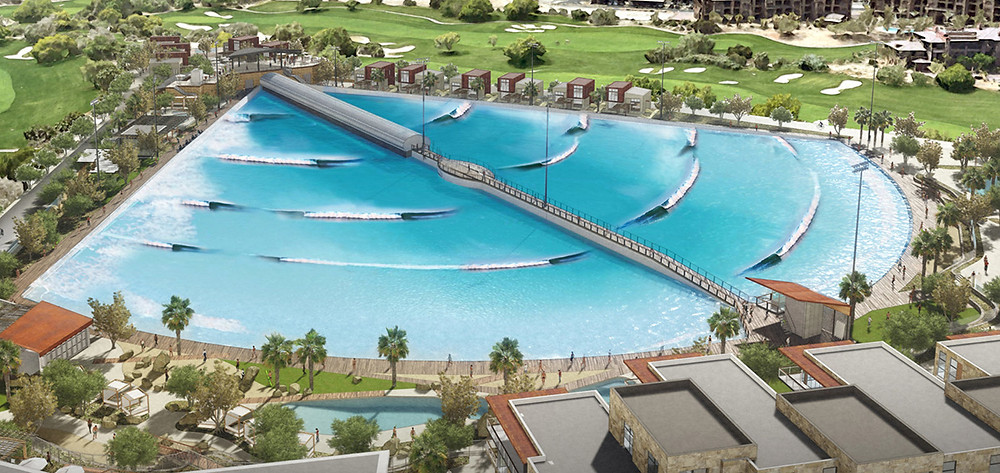 Artist concept of The Wave at DSRT Surf from Dsrt Surf