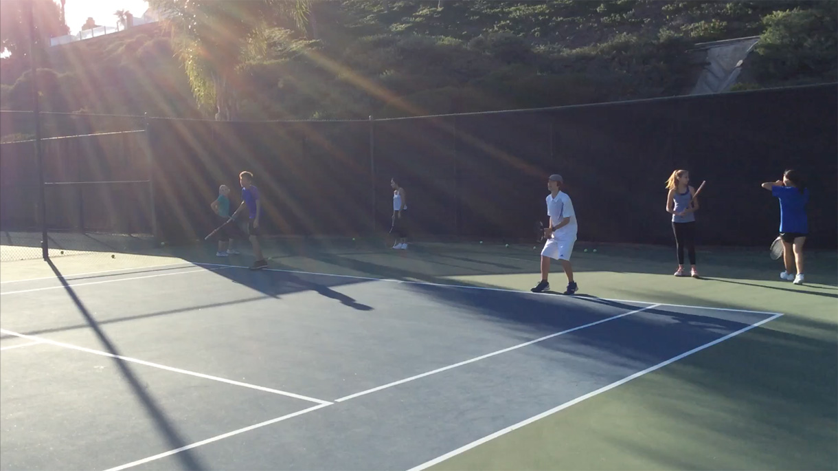 Junior Tennis at Rancho Niguel