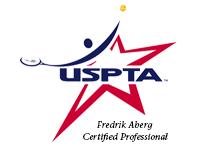 USPTA Fredrik Aberg Cerified Professional