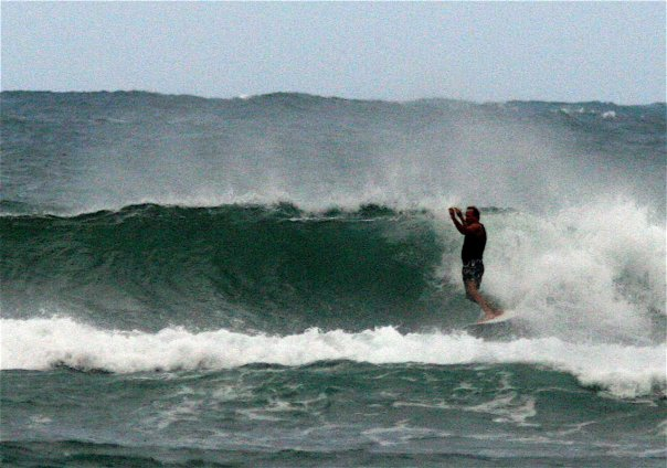 Dave Rullo Surfing