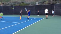 Juniors Training for Tournament