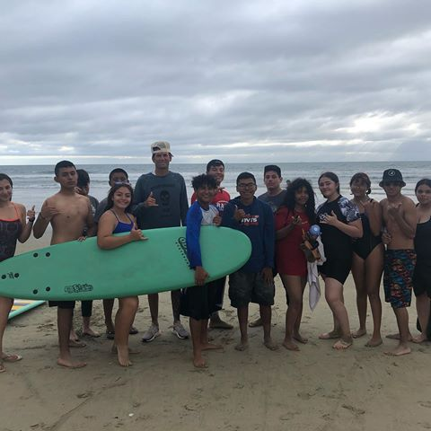 East Valley Board Riders at Huntington Beach