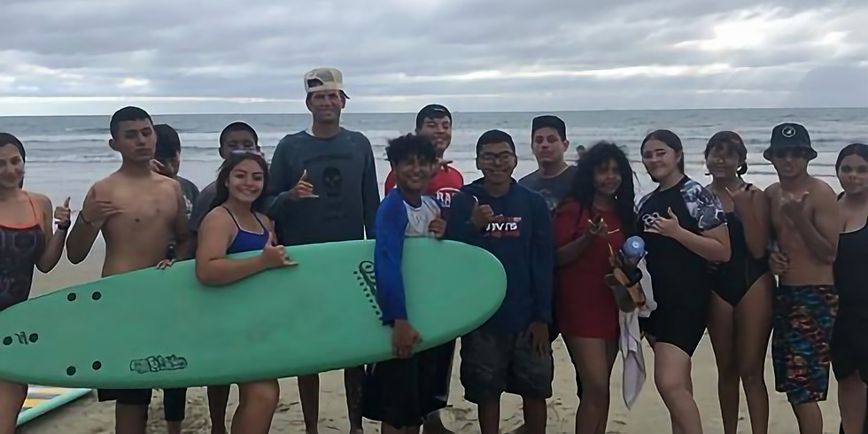 Wetsuit and Surfboard Presentation to East Valley Board Riders Surf Club