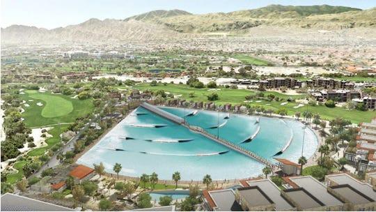 Proposed DSRT Surf Wavegarden Cove Surf Lagoon, Palm Desert, CA