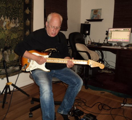 Jeff Richman on Electric Guitar