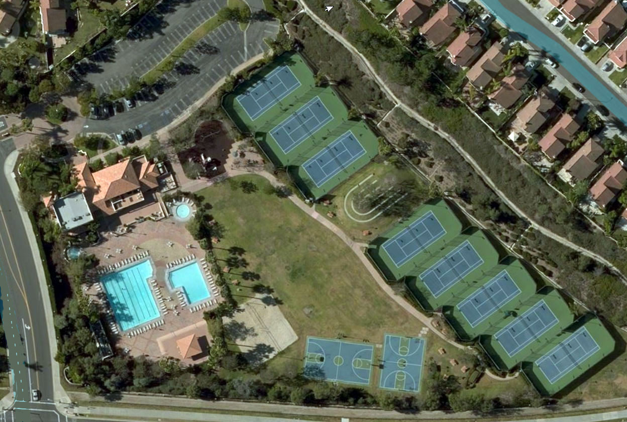 The Club at Rancho Niguel Aerial