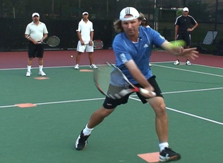 New Times for Adult Tennis Clinics