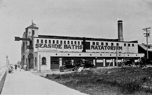 Seaside, Oregon. Seaside Baths and Natatorium