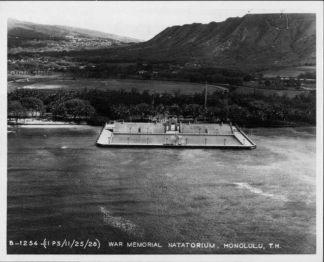 Waikiki Natatorium War Memorial 1927