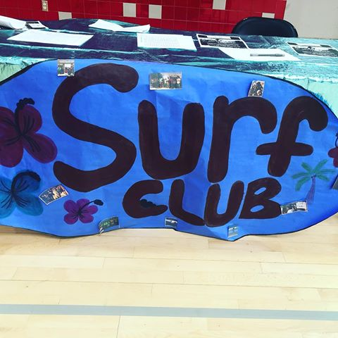 East Valley Board Riders' sign for surf club