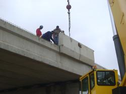 Launching of Handrails