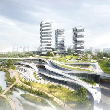 장지, 서울 컴팩트시티 국제설계공모 - 공영차고지 입체화 사업