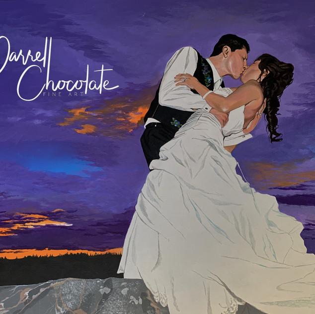 Kevin Camille's Wedding Portrait