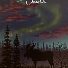 Moose Under the Aurora