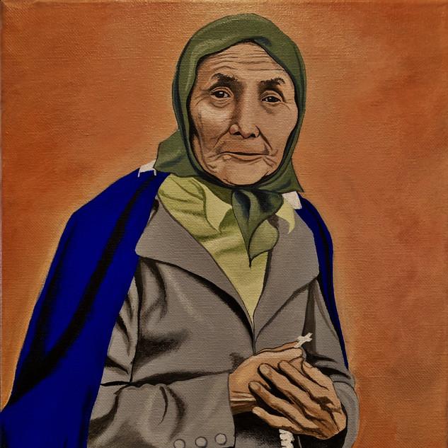 Elderly Woman's Portrait