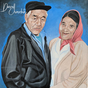 Commissioned Portrait of Couple