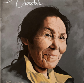 Commissioned Portrait of a Grandmother