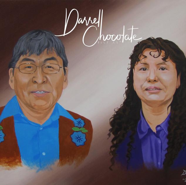 My Parents Portrait