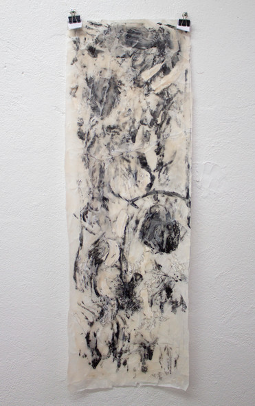 Untitled (wax on paper)