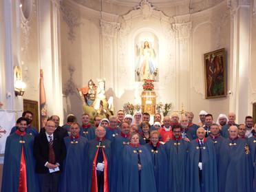 Festa di San Giorgio ad Enna insieme ai Cavalieri Costantiniani