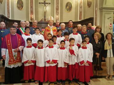 S. Messa solenne e processione con l'insigne S. Reliquia per la Festa patronale di San Giorgio Marti