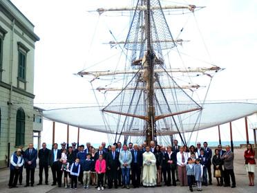 Visita all'Accademia Navale di Livorno della Delegazione Toscana