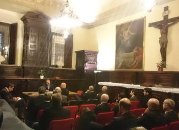 """Delegazione Lombardia - Conferenza sul tema """"Il Cavaliere Costantiniano, valori e profilo"""""""