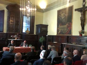 """Conferenza del Delegato Vicario per il Triveneto Nob. Cav. Avv. Paolo Borin """"Ciclo conoscitivo fra D"""