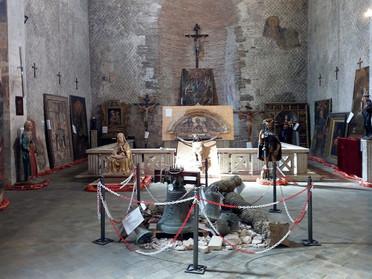 Avviato il restauro di un'opera pittorica a cura della Delegazione delle Marche e Romagna