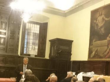 S. Messa e conferenza del Prof. Daniele Salerno nell'ambito del Ciclo di presentazione dei Confratel