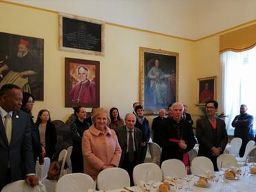 Incontro con gli Ambasciatori presso la S. Sede
