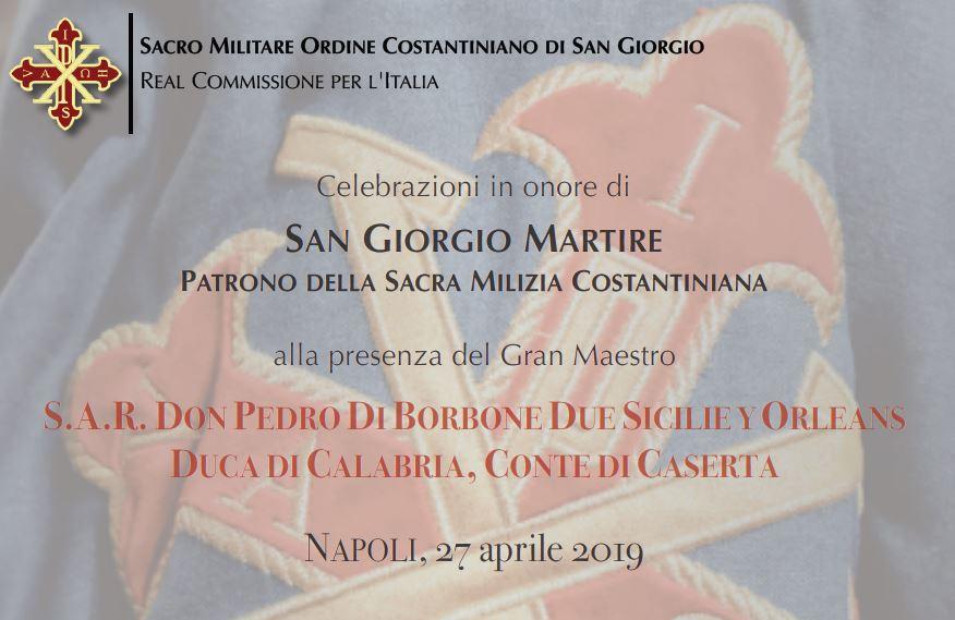 Pontificale di S. Giorgio 2019