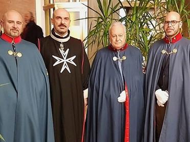 La Delegazione Toscana alla 25° Festa di Natale con i Signori Ammalati dello SMOM