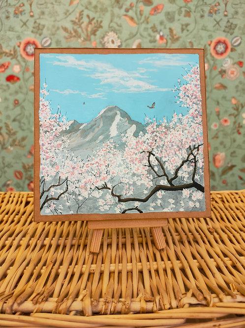 """Miniature d'Ariège """" Valier de printemps"""""""