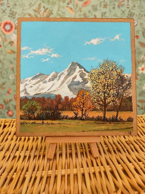 """Miniature d'Ariège """"Valier d'automne"""""""