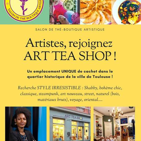 // RECHERCHE DE PARTENAIRES ARTISTIQUES, CRÉATEURS POUR BOUTIQUE EN CENTRE VILLE DE TOULOUSE//📷
