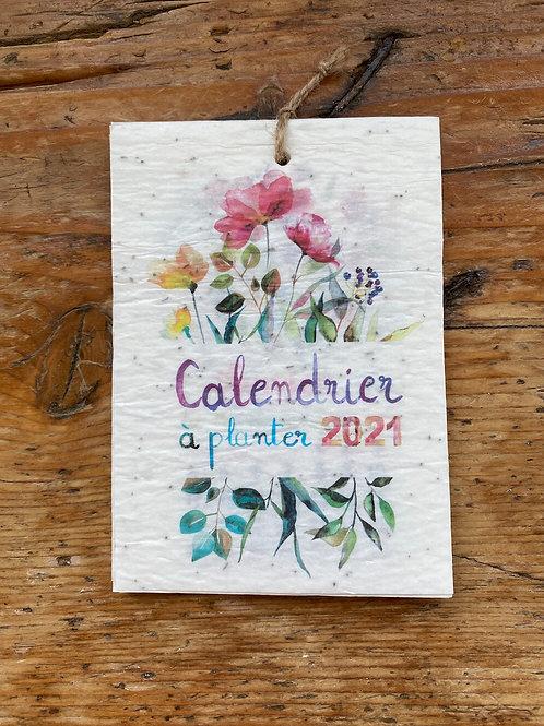 Calendrier à planter 2021
