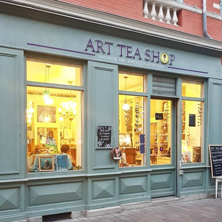 🎉ON PARLE DE ART TEA SHOP DANS Au Boulot Cocotte !