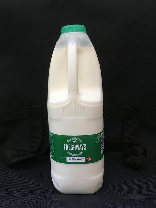 Semi-skimmed Milk - 2 Litres
