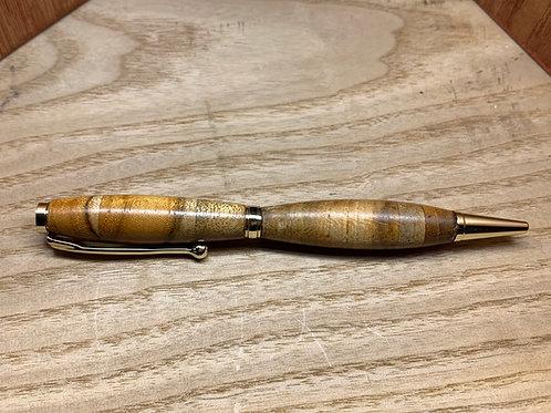 Teak wood Slimline Pen
