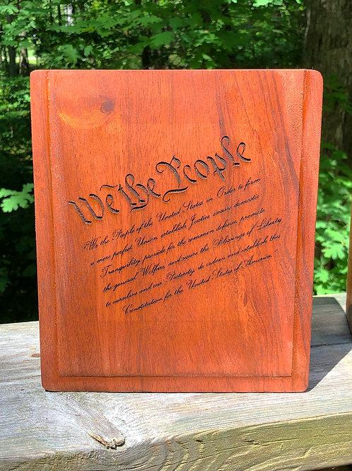 We The People Keepsake Box