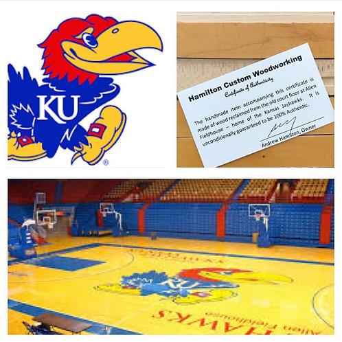 University of Kansas Basketball Court Pen